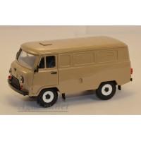 12018-4-УСР УАЗ-3741 фургон (пластик крашенный), темно-бежевый