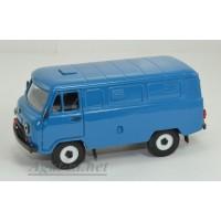 12018-6-УСР УАЗ-3741 фургон (пластик крашенный), синий