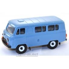 10000-1-УСР УАЗ-3962 автобус, голубой