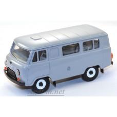 10000-2-УСР УАЗ-3962 автобус, темно-серый