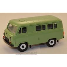 10000-3-УСР УАЗ-3962 автобус, фисташковый