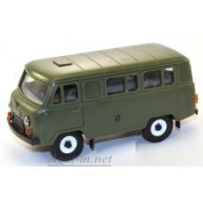 11000-УСР УАЗ-3962 автобус (пластик), зеленый