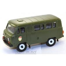 "11004-УСР УАЗ-3962 автобус военный ""Гвардия"" (пластик)"