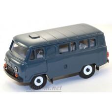 12000-3-УСР УАЗ-3962 автобус (пластик крашенный), серо-голубой