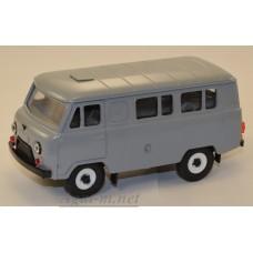 12000-4-УСР УАЗ-3962 автобус (пластик крашенный), темно-серый