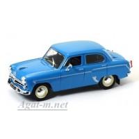 01-ДЕГ Москвич-407 1958-1963 гг. ярко-синий