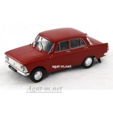 12-ДЕГ Москвич-408 1964-1975 гг. вишневый