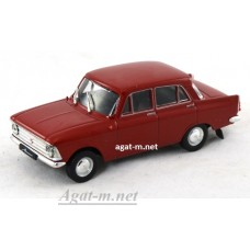 Москвич-408 1964-1975 гг. вишневый