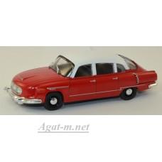TATRA 603-1 (Чехословакия) красный с белым