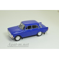 277-ДЕГ Москвич-408 1964-1969 гг. синий