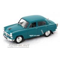 72-ДЕГ Москвич-402 1956-1958 гг. сине-зеленый