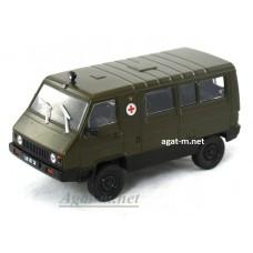 96-ДЕГ УАЗ-3972 1990-1993 гг. хаки