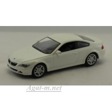 Масштабная модель BMW-645 CI Coupe, белый