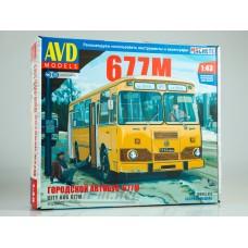4028-КИТ Сборная модель Городской автобус 677М