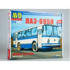 4029-КИТ Сборная модель Автобус ЛАЗ-695Н