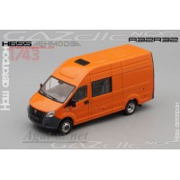 655-АПР ГАЗель Next A32R32 фургон, оранжевый