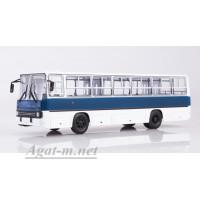 900124-САВ Ikarus-260 автобус бело-синий